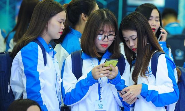 690 đại biểu quét mã vạch vào tham dự Đại hội toàn quốc Hội Sinh viên ảnh 6