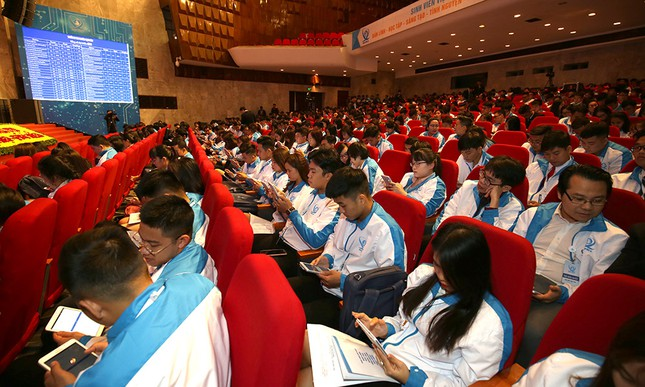 Đại hội Hội Sinh viên biểu quyết bằng công nghệ ảnh 2