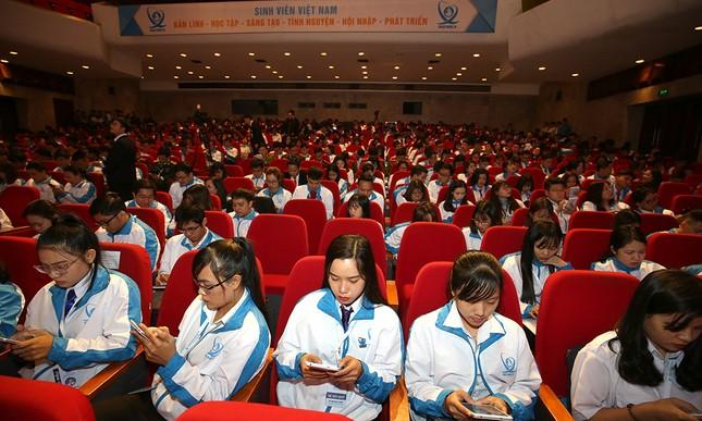 Đại hội Hội Sinh viên biểu quyết bằng công nghệ ảnh 5