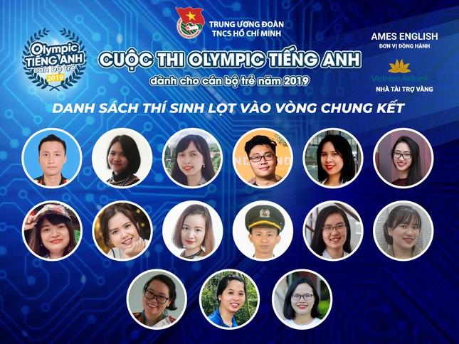 Lộ diện 15 gương mặt vào chung kết Olympic tiếng Anh ảnh 2