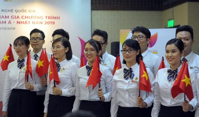 Đoàn Việt Nam tham dự Tàu Đông Nam Á - Nhật Bản cover 'Để Mị nói cho mà nghe' ảnh 1