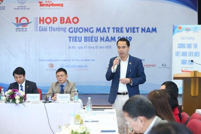 Toàn cảnh họp báo công bố 20 đề cử Giải thưởng Gương mặt trẻ Việt Nam 2019 ảnh 5