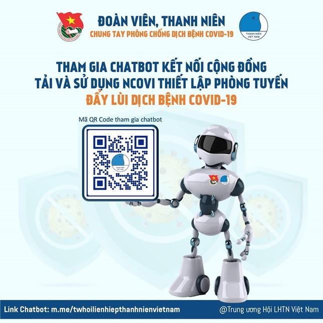 Chatbot hỗ trợ khai báo y tế, cập nhật thông tin dịch COVID-19 ảnh 1