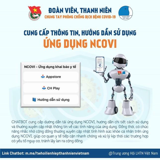 Chatbot hỗ trợ khai báo y tế, cập nhật thông tin dịch COVID-19 ảnh 3