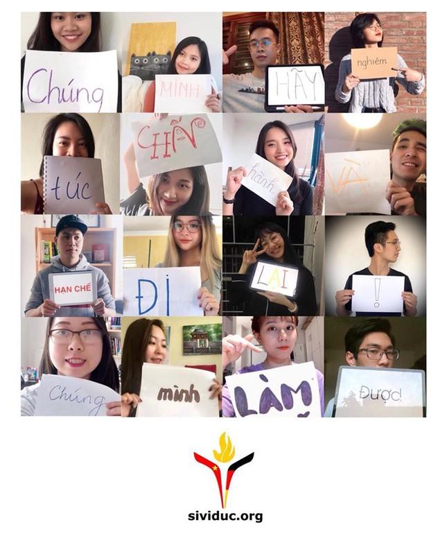Du học sinh Việt lan tỏa trào lưu 'Spread love - not fear' ứng phó mùa dịch COVID-19 ảnh 1