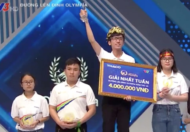 10X nhẹ nhàng xô đổ kỷ lục của thí sinh lọt vào chung kết năm Đường lên đỉnh Olympia 20 ảnh 2