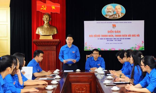 Tuổi trẻ T.Ư Đoàn thăm nơi Chủ tịch Hồ Chí Minh viết Tuyên ngôn Độc lập ảnh 5
