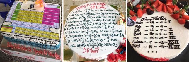 Học trò tặng bánh kem 'hại não' với bài tập hàm số ảnh 3