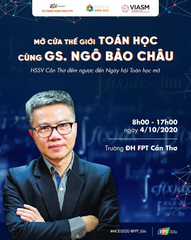 Giáo sư Ngô Bảo Châu về miền Tây nói chuyện Toán học ảnh 1
