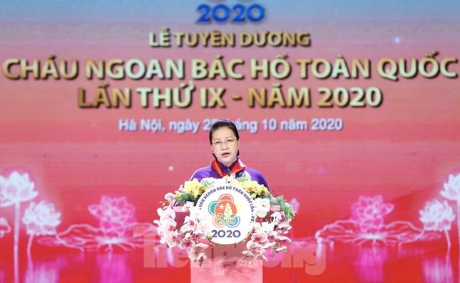 Toàn cảnh tuyên dương Cháu ngoan Bác Hồ toàn quốc lần thứ IX năm 2020 ảnh 10