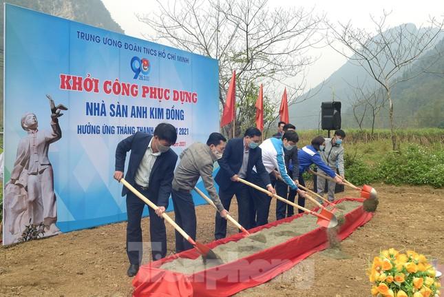 Phục dựng Nhà sàn Anh Kim Đồng theo nguyên bản nhà sàn dân tộc Nùng ảnh 2