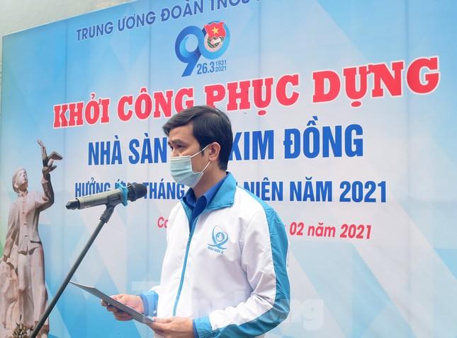 Phục dựng Nhà sàn Anh Kim Đồng theo nguyên bản nhà sàn dân tộc Nùng ảnh 1