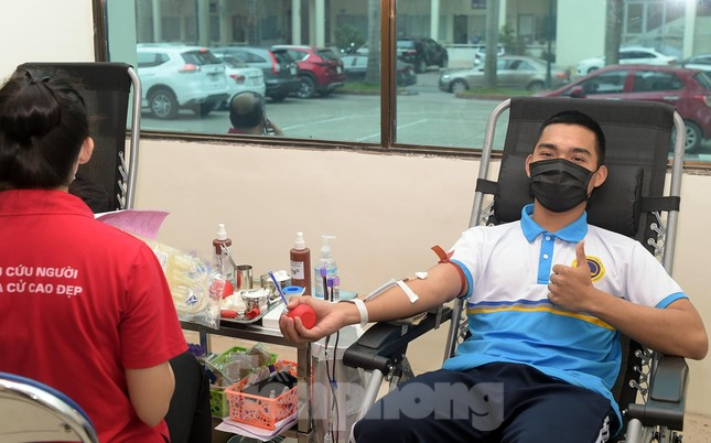 Sôi nổi Ngày hội Thanh niên tình nguyện hiến máu 2021 ảnh 6