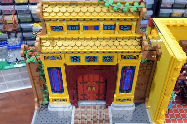 Chàng trai Việt 'đóng' tàu Hoàng Sa, Trường Sa từ mô hình Lego, tri ân ngư dân bám biển ảnh 10