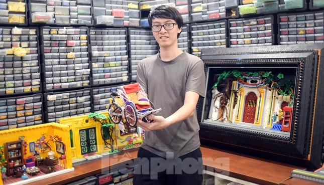 Chàng trai Việt 'đóng' tàu Hoàng Sa, Trường Sa từ mô hình Lego, tri ân ngư dân bám biển ảnh 12