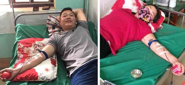 Thành viên CLB ngân hàng máu sống giúp thai phụ qua cơn nguy kịch ảnh 1