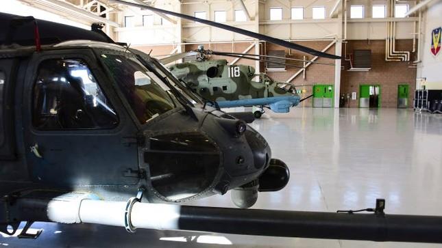 Không quân Mỹ tập trận với trực thăng Nga ảnh 1