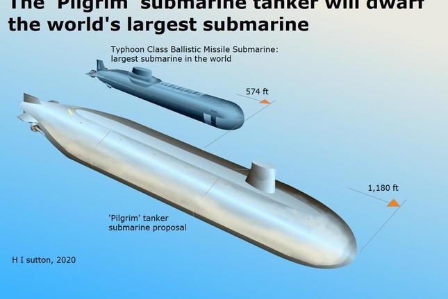 Tàu ngầm Nga lớn nhất thế giới sắp bị soán ngôi bằng một tàu ngầm Nga khác ảnh 1