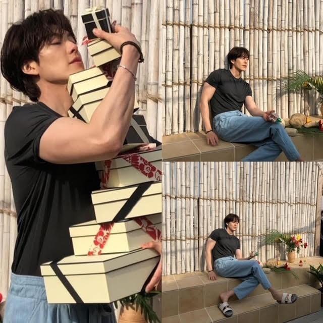 """Kim Woo Bin khiến hậu bối chạy dài với body """"đỉnh của chóp"""" trong bộ ảnh sau 4 năm bệnh ảnh 7"""