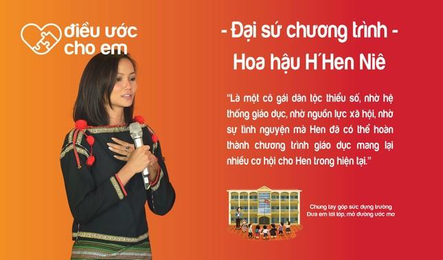 H'Hen Niê là Đại sứ chương trình 'Điều ước cho em' ảnh 4