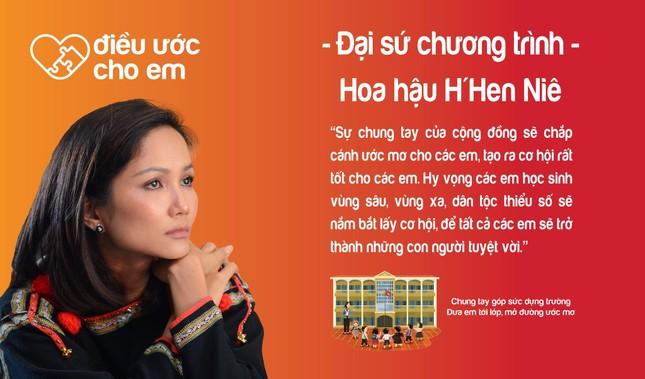 H'Hen Niê là Đại sứ chương trình 'Điều ước cho em' ảnh 2