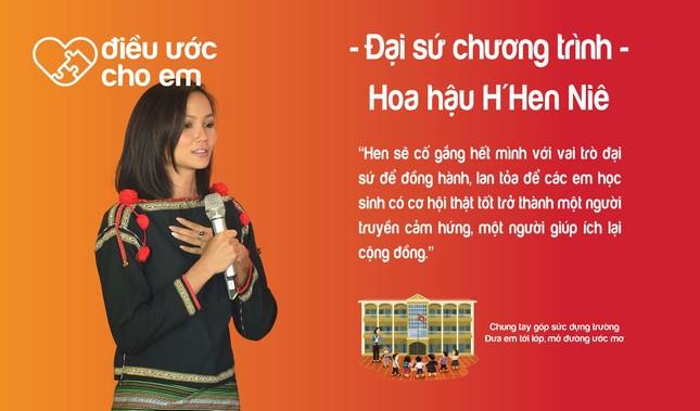 H'Hen Niê là Đại sứ chương trình 'Điều ước cho em' ảnh 3