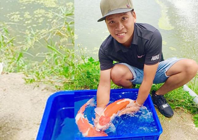 Chàng trai 9X Hải Phòng bỏ việc lương cao để nuôi cá Koi, kiếm tiền tỷ ảnh 1