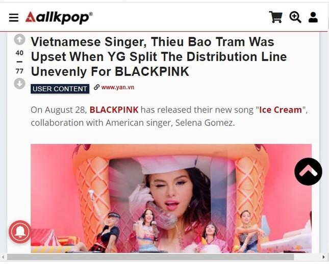 """Là fan cứng của Black Pink, """"bạn gái tin đồn"""" Sơn Tùng M-TP phàn nàn về  MV """"Ice Cream"""" ảnh 5"""
