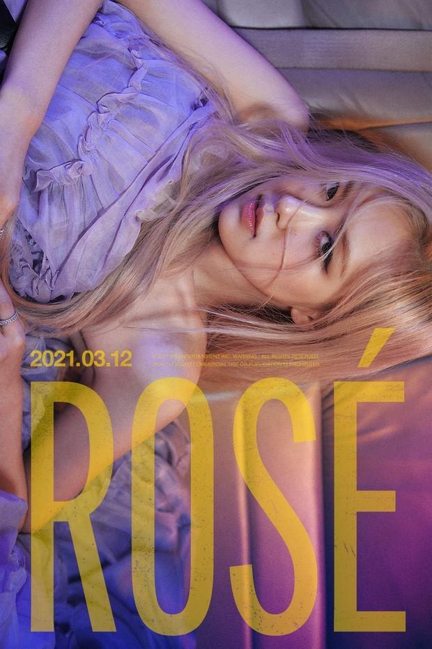 """Rosé (Black Pink) xinh đẹp và quyến rũ trong 2 teaser mới nhất """"đánh úp"""" cộng đồng fan ảnh 1"""
