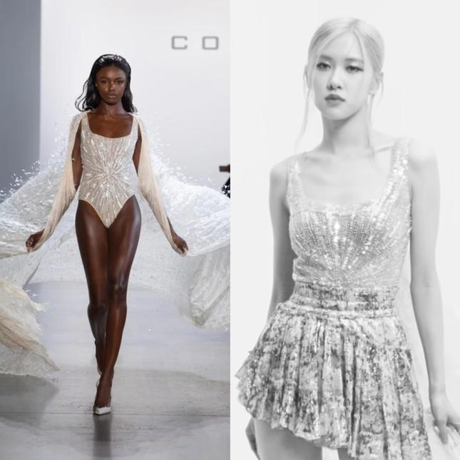 Rosé lần đầu thổ lộ tình cảm bằng lời với chiếc váy gần 300 triệu đồng của NTK Công Trí  ảnh 5