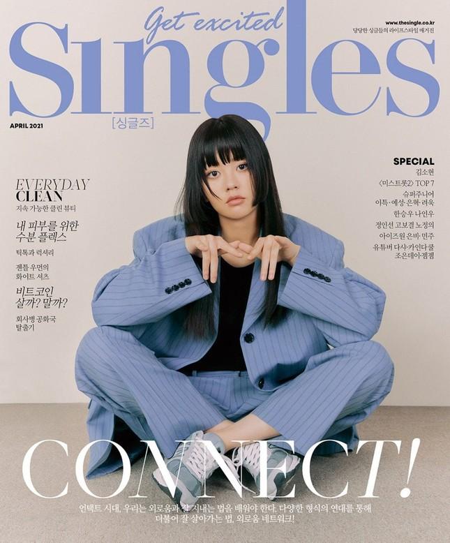 """Nhìn Kim So Hyun  ngỡ  """"Gái Nhật đó"""", visual """"đỉnh cao"""" khiến netizens hết nói """"giả trân"""" ảnh 1"""