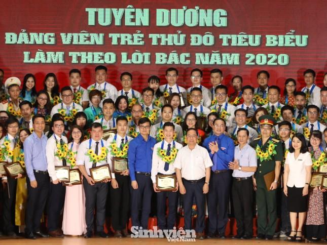 Hà Nội tuyên dương 90 đảng viên trẻ làm theo lời Bác ảnh 1