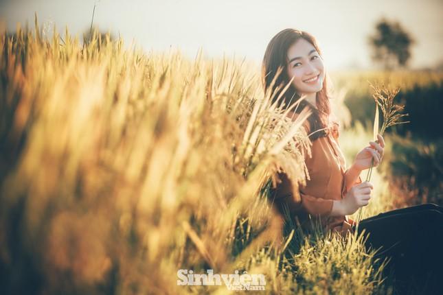 Hoa khôi Tài chính xinh đẹp khi hóa thân thành nông dân trên cánh đồng Mường Thanh ảnh 9