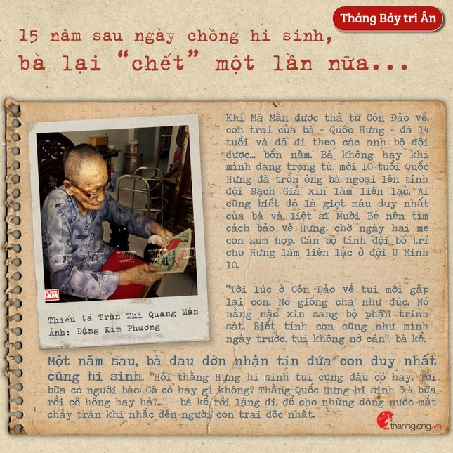 Tháng Bảy tri ân: Cô gái năm xưa giả trai đi đánh giặc nay là Mẹ Việt Nam Anh hùng ảnh 5