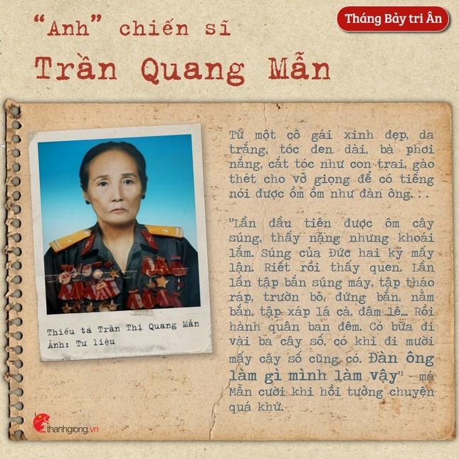 Tháng Bảy tri ân: Cô gái năm xưa giả trai đi đánh giặc nay là Mẹ Việt Nam Anh hùng ảnh 2
