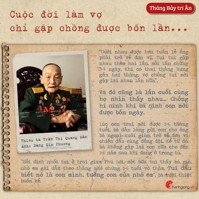 Tháng Bảy tri ân: Cô gái năm xưa giả trai đi đánh giặc nay là Mẹ Việt Nam Anh hùng ảnh 4