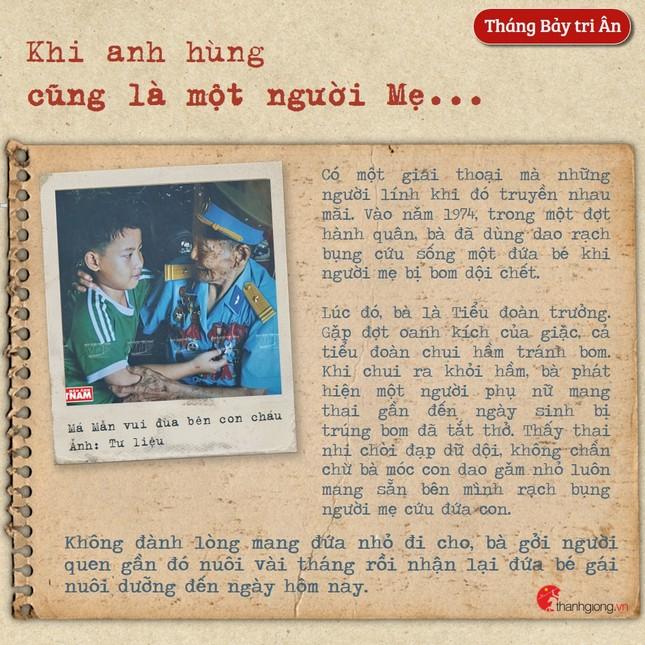 Tháng Bảy tri ân: Cô gái năm xưa giả trai đi đánh giặc nay là Mẹ Việt Nam Anh hùng ảnh 6