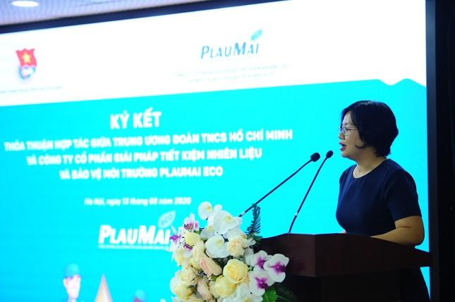 """T.Ư Đoàn ký kết triển khai chương trình """"Vì một Việt Nam xanh"""" ảnh 2"""