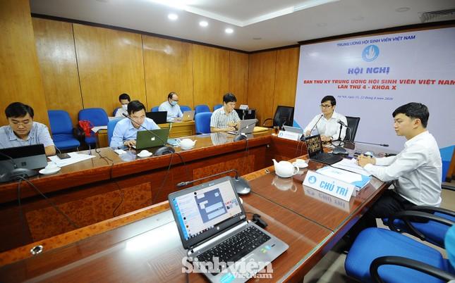 Hội nghị Ban Thư ký T.Ư Hội Sinh viên Việt Nam theo phương thức trực tuyến ảnh 2