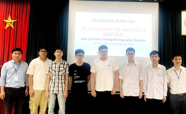 Việt Nam giành 6 huy chương tại Olympic Tin học Châu Á - Thái Bình Dương ảnh 1
