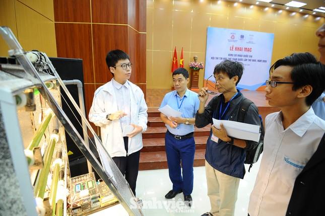 169 thí sinh tham dự vòng sơ khảo phía Bắc Hội thi Tin học trẻ toàn quốc ảnh 6