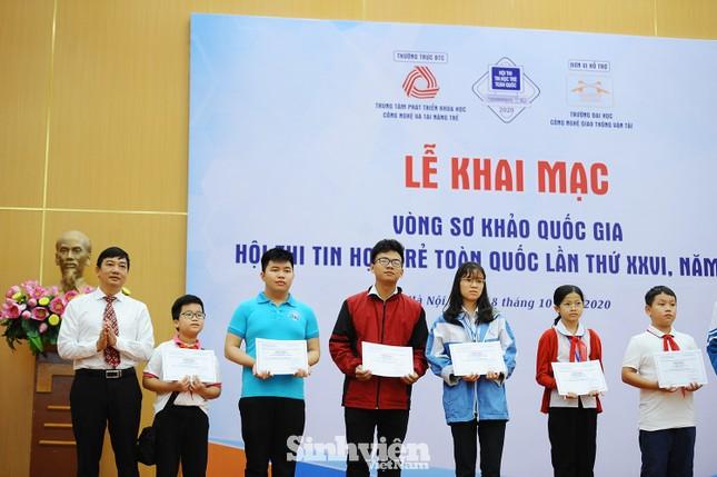 169 thí sinh tham dự vòng sơ khảo phía Bắc Hội thi Tin học trẻ toàn quốc ảnh 1