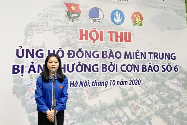 Tuổi trẻ Thủ đô ủng hộ nguồn lực, hỗ trợ đồng bào miền Trung ảnh 2