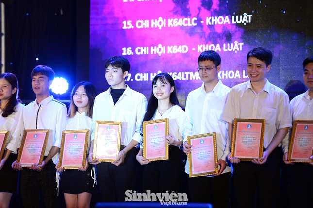 """199 """"Sinh viên 5 tốt"""" cấp ĐHQG Hà Nội được tuyên dương ảnh 3"""