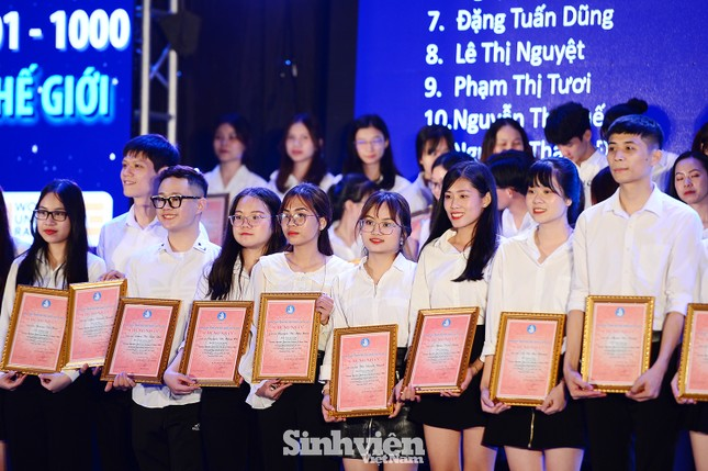 """199 """"Sinh viên 5 tốt"""" cấp ĐHQG Hà Nội được tuyên dương ảnh 6"""