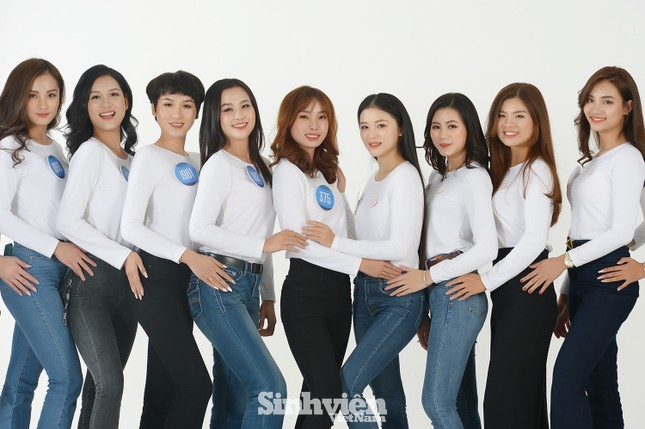 """Dàn thí sinh """"Hoa khôi sinh viên 2020"""" hội tụ tại Hà Nội ảnh 1"""