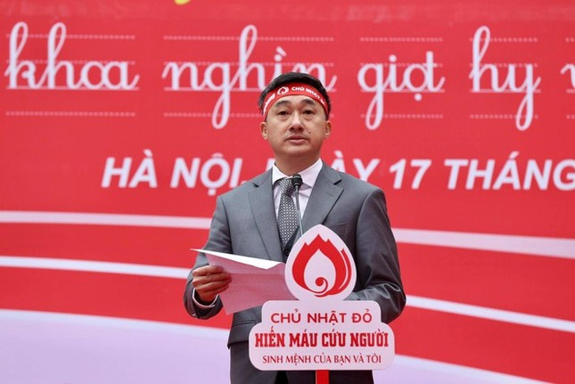 """Khai mạc ngày hội hiến máu """"Chủ Nhật Đỏ 2021"""" ảnh 3"""