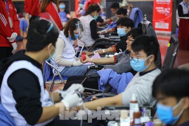 """Khai mạc ngày hội hiến máu """"Chủ Nhật Đỏ 2021"""" ảnh 6"""