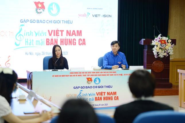"""Ca sĩ Erik, Min đồng hành với cuộc thi """"Sinh viên Việt Nam - hát mãi bản hùng ca"""" ảnh 2"""