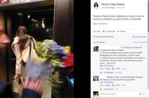 Cựu hoa hậu bức xúc với Ban tổ chức Miss Universe 2015 ảnh 1